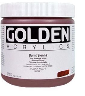 GOLDEN HEAVY BODY ACRYLIC 473ML