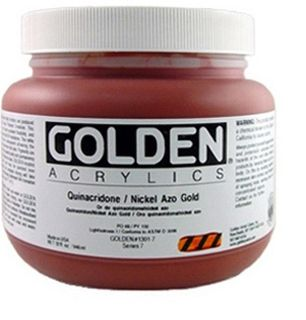 GOLDEN HEAVY BODY ACRYLIC 946ML