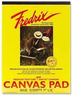 FREDRIX CANVAS PADS