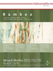 HAHNEMUHLE BAMBOO MIXED MEDIA BLOCKS
