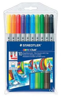 STAEDTLER COLOUR FIBRE TIP PEN