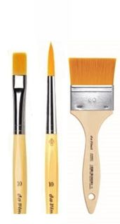 DA VINCI JUNIOR SYNTHETIC BRUSHES