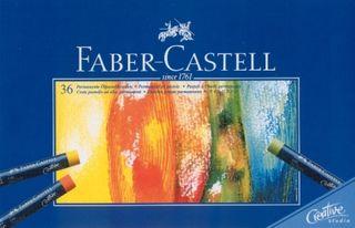 FABER CREATIVE STUDIO OIL PASTEL SET 36