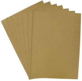 COLOURFIELD KRAFT CARD 120G A2 SHEET