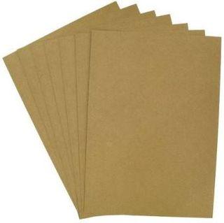 COLOURFIELD KRAFT CARD 275G A4 PKT 10