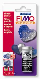 FIMO METALLIC POWDER SILVER 3GM