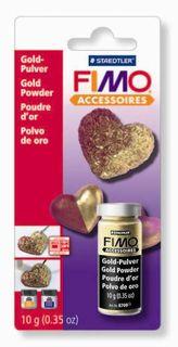 FIMO METALLIC POWDER GOLD 10GM