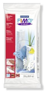 FIMO AIR-DRYING LIGHT MODEL CLAY 250G WHITE
