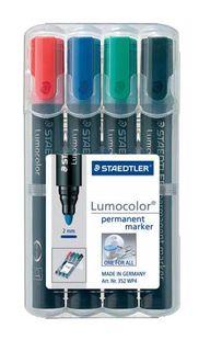 LUMOCOLOR PERMANENT MARKER BULLET TIP WLT4