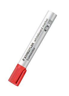 LUMOCOLOR WHITEBOARD MARKER BULLET TIP RED
