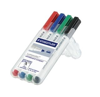 LUMOCOLOR COMPACT WHITEBOARD MARKER WLT4