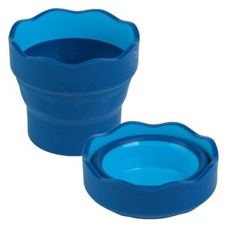 FABER CLICK & GO WATER CUP BLUE