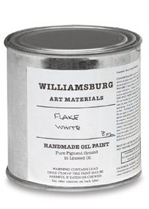 WILLIAMSBURG OIL 119ML FLAKE WHITE
