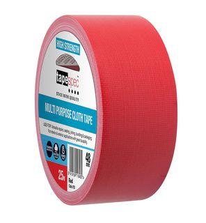 MULTI PURPOSE CLOTH TAPE 48MM X 25M RED