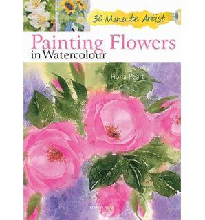 30 MINUTE ARTIST PAINTING FLOWERS IN W/C
