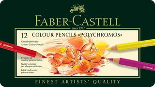 FABER POLYCHROMOS PENCIL TIN SET 12