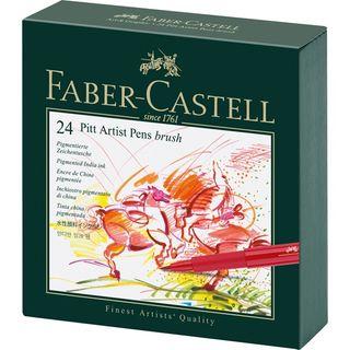 FABER PITT ARTIST BRUSH PEN STUDIO BOX 24