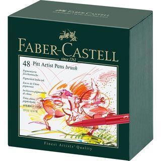 FABER PITT ARTIST BRUSH PEN STUDIO BOX 48