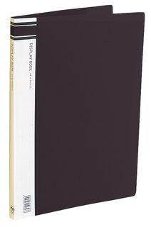 FM DISPLAY BOOK A4 40 POCKET BLACK