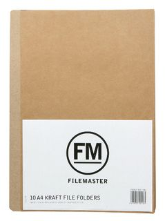 FM MANILLA KRAFT FILE FOLDER A4  PKT10