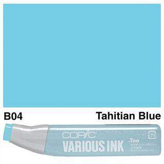 COPIC INK B04 TAHITIAN BLUE