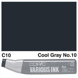 COPIC INK C10 COOL GRAY NO 10