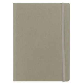 FABRIANO ECOQUA NOTEBOOK PLAIN A6 GREY