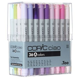 COPIC CIAO MARKER SET 36 ASSORTED A