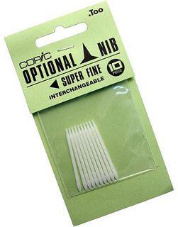 COPIC SPARE NIB PKT 10 SUPER FINE