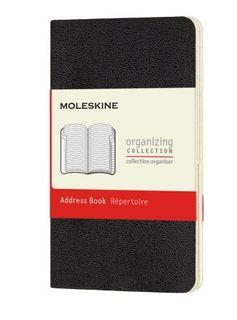 MOLESKINE ADDRESS BOOK POCKET BLACK