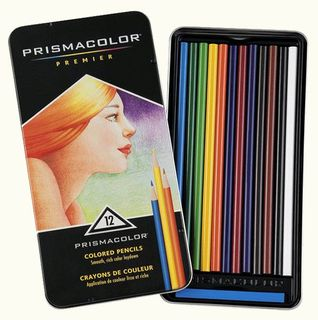 PRISMACOLOR PREMIER COLOUR PENCIL SET 12