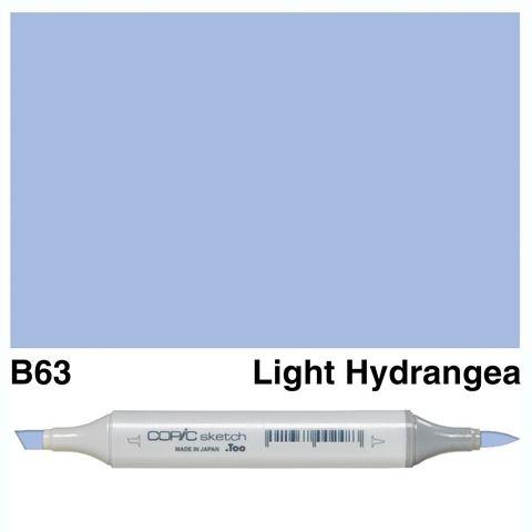 COPIC SKETCH MARKER B63 LIGHT HYDRANGEA