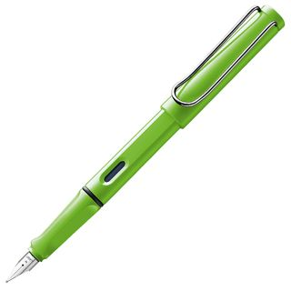 LAMY SAFARI FOUNTAIN PEN GREEN M 013