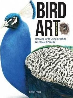 BIRD ART COLOURED PENCILS