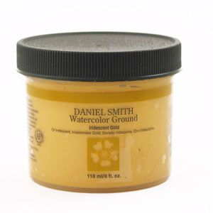 DANIEL SMITH W/C GROUND 118ML IRID GOLD