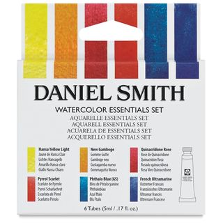 DANIEL SMITH W/C ESSENTIALS SET 6 X 5ML