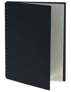 EASTLIGHT DISPLAY BOOK REFILLABLE A3 BLK20P