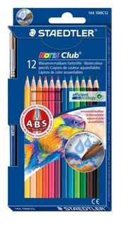 STAEDTLER NORIS CLUB AQUARELL PENCIL SET 12