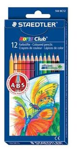 STAEDTLER NORIS CLUB COLOUR PENCILS SET 12