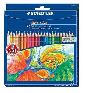 STAEDTLER NORIS CLUB COLOUR PENCILS SET 24