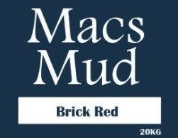 MACS BRICK RED CLAY 20KG