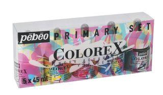 PEBEO COLOREX SET 5 X 45ML