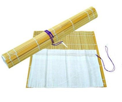 EXPRESSION BRUSH ROLL BAMBOO WITH POCKET