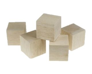 GH BALSA BLOCK 75MM CUBE