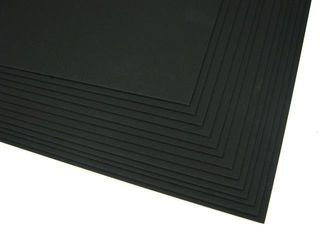 CRESCENT 40B ALL BLACK BD 81X102 SHEET