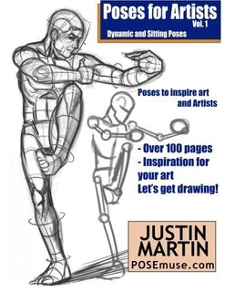 POSES FOR ARTISTS DYNAMIC & SITTING POSE