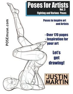 POSES FOR ARTISTS FIGHTING POSES