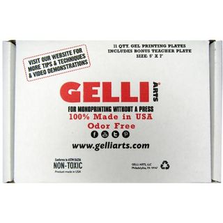 "GELLI PRINTING CLASS PACK (11) 5""X7"""
