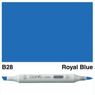 COPIC CIAO MARKER B28 ROYAL BLUE