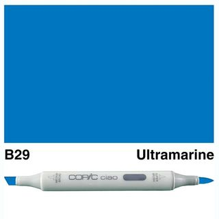 COPIC CIAO MARKER B29 ULTRAMARINE BLUE